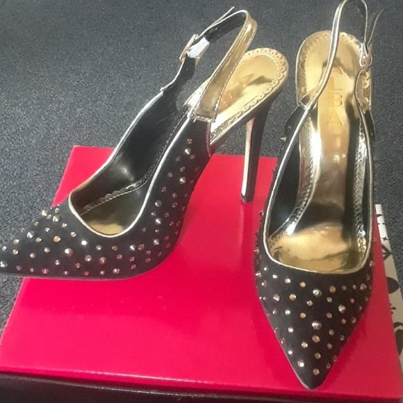 669668980293 Women s Rhinestones Spikes Design Stilettos Heels